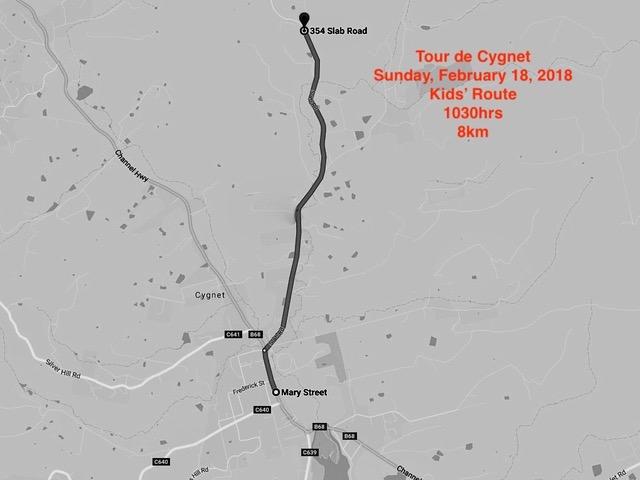Tour de Cynet 2018 - Child safe