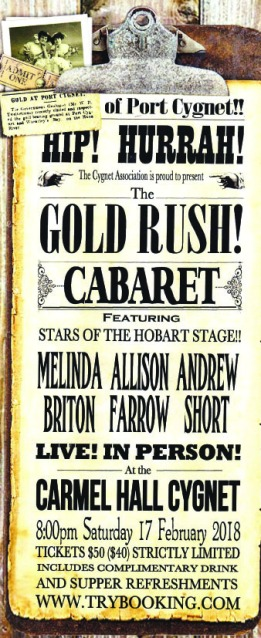 Gold Rush Cabaret Poster copy