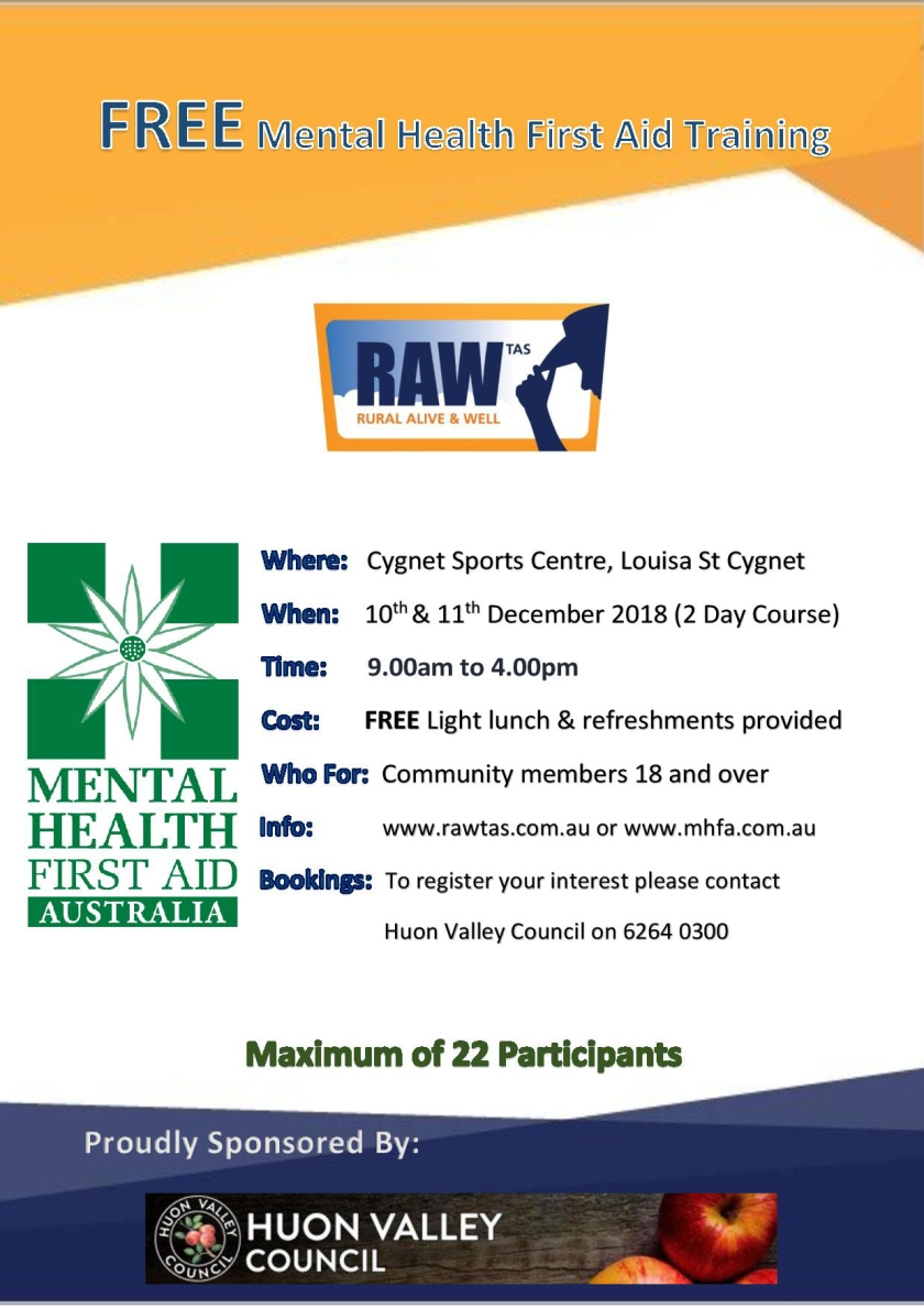 CYGNET FREE Mental Health First Aid Training Poster-page-001